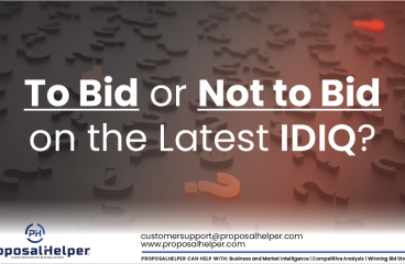 To Bid or Not to Bid on the Latest IDIQ?